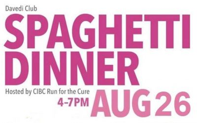 CIBC Run for the Cure Spaghetti Dinner