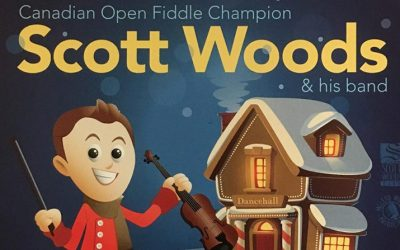 Old Time Christmas – Scott Woods & his Band