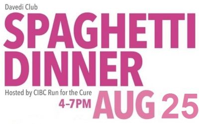 CIBC Spaghetti Dinner for the Cure