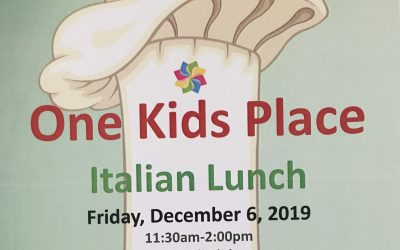 One Kids Place Italian Lunch